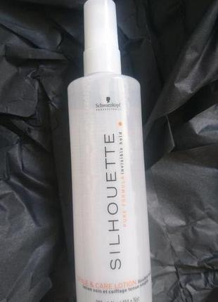 Лосьон объем и уход silhouette style and care lotion