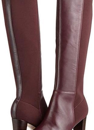 Новые шикарные сапоги осенние clark чоботи женские