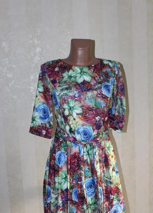 Красивое платье- сарафан