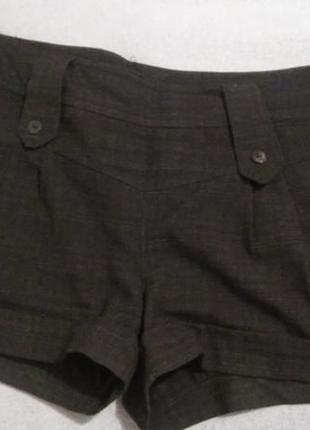 Черные шорты