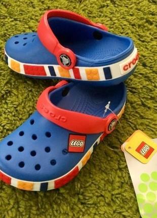Кроксы crocs crocband blue