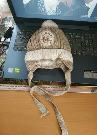 Зимняя шапочка для самых маленьких arctic