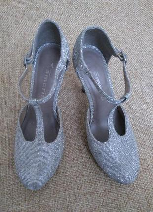Фирменные женские босоножки туфли tamaris