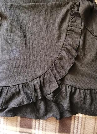Нова чорна спідниця ginatricot5 фото