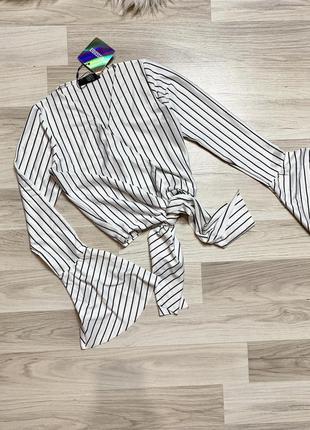 Новые вещи до 300 грн🧨топ блуза на запах  на завязке блузка