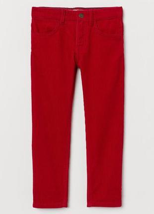 H&m детские вельветовые брюки, штаны