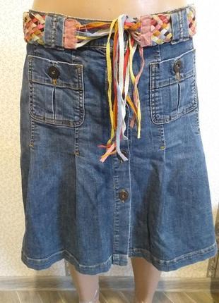 Юбка, джинсовая.1 фото