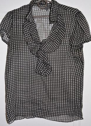 Шифоновая классическая блузка