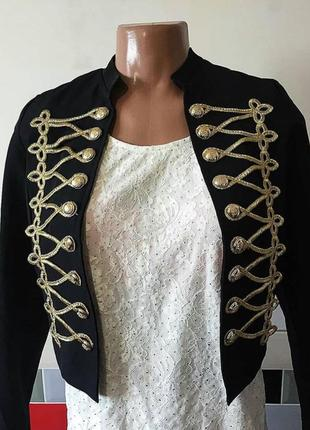 Пиджак укороченный бренд mivite