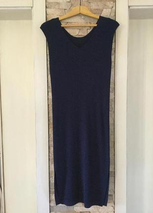 Стильное платье— туника— сарафан  от  massimo dutti.