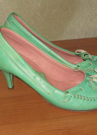 Туфли fornarina натуральная кожа