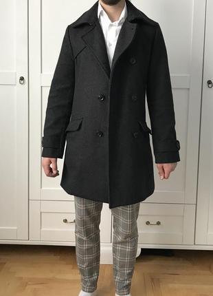 Шерстяне пальто cedarwood state