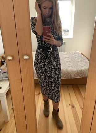 Супер платье в леопардовий принт от h&m