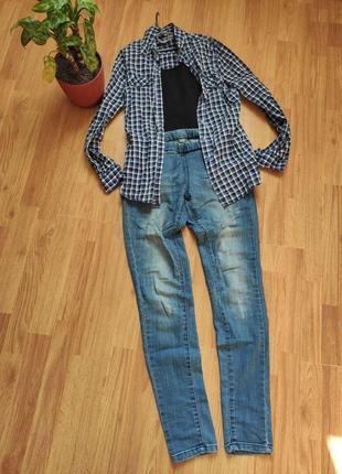 Джинсовые джеггинсы, леггинсы, джинсы на резинке
