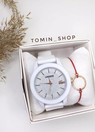 Кварцевые часы, качество lux lacoste