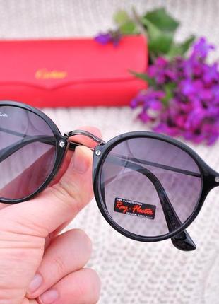 Солнцезащитные круглые очки ray flector окуляри