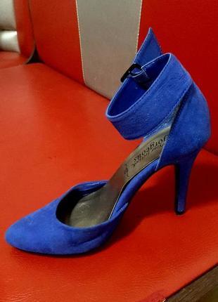 Яркие туфли- лодочки, new look, 38 размер, каблук 11 см