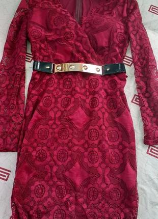 Плаття кружевне