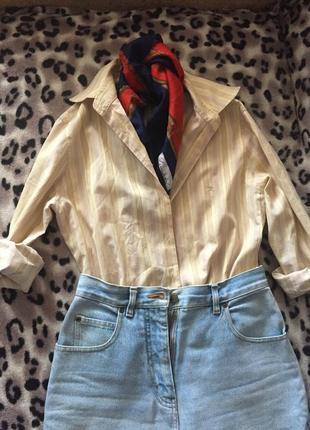 Винтажная рубашка burberry original
