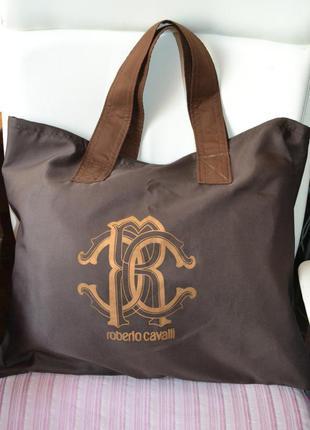 Большая, вместительная сумка roberto cavalli (роберто кавалли)