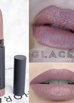 Матовый нюдовый карандаш-помада для губ bite beauty matte crème lip crayon