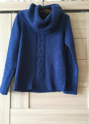 Синий свитер reserved