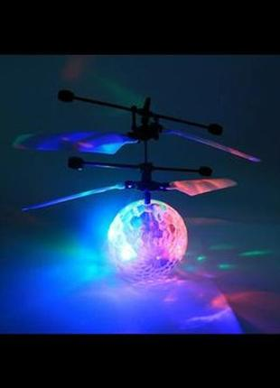 Летающий led мяч sensor flying ball