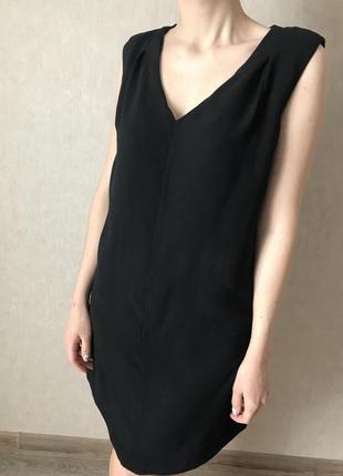 Платье чёрное женское warehouse