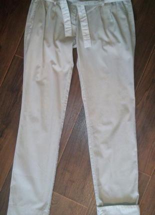 Хлопковые лёгкие брюки