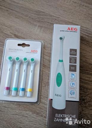 Зубні щітки привезені з польщі, виробник aeg - germany