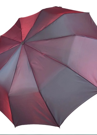 Женский зонт-полуавтомат bellissimo хамелеон, розово-лиловый