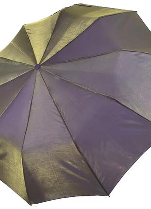 Женский зонт-полуавтомат bellissimo хамелеон, оливковый