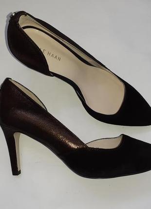 Cole haan нарядные туфли на каблуке  большие размеры обуви из сша