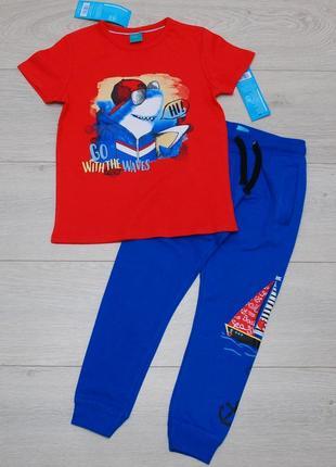 Спортивный костюм  футболка и штаны джоггеры pepco