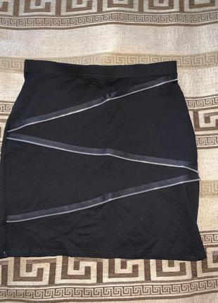 Юбка тонкий трикотаж, 10 размер