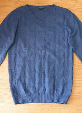 Мужской пуловер, свитер, реглан trittico, турция, р. м (46-48)
