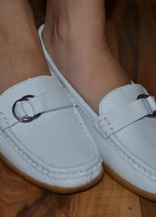 Кожаные туфли от clifford james