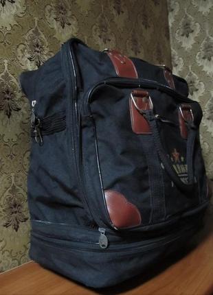Дорожная сумка-трансформер на колесах
