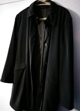 Кардиган плащ лёгкое пальто