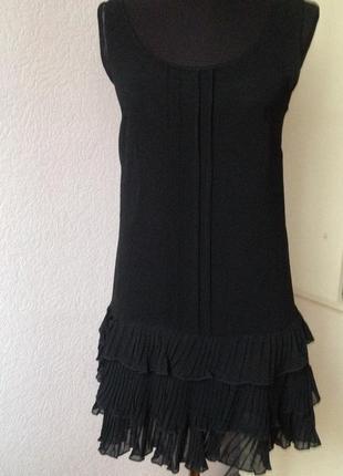 Прозрачное лекое платье