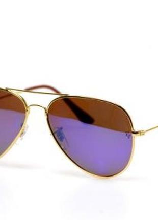 Солнцезащитные очки ray ban синие линзы