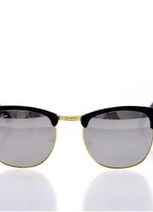 Солнцезащитные очки клабмастер  линзы цветом серебро