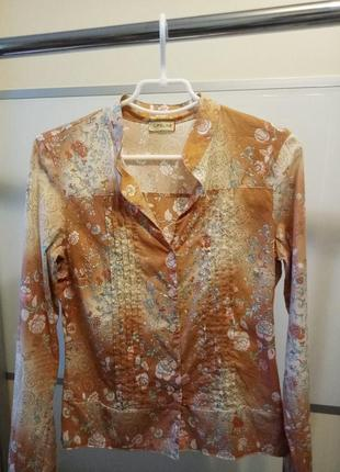 Винтажная блуза life line