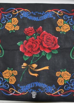 Harley-davidson сша. оригинальная бандана (шейный платок) - 5