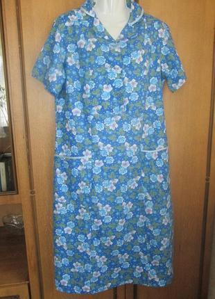 Легенькое домашнее платье для бабушки