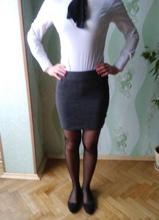 Юбка теплая