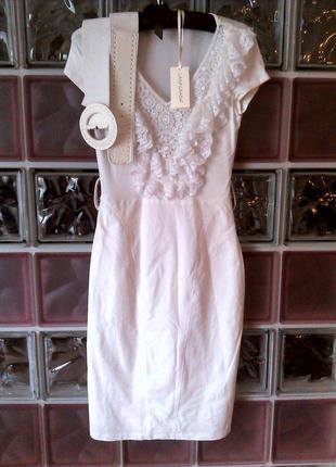 Белое платье lasagrada