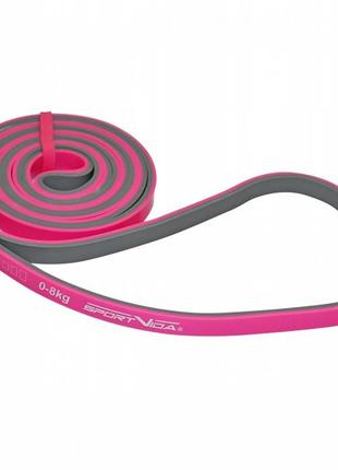 Фитнес резинка, эспандер 0-8 кг