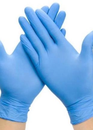 Перчатки одноразовые бытовые нитриловые. не медицинские. размеры x, m, l.