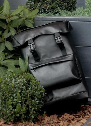 Рюкзак туристичний для подорожей чоловічий місткий екошкіра тканина